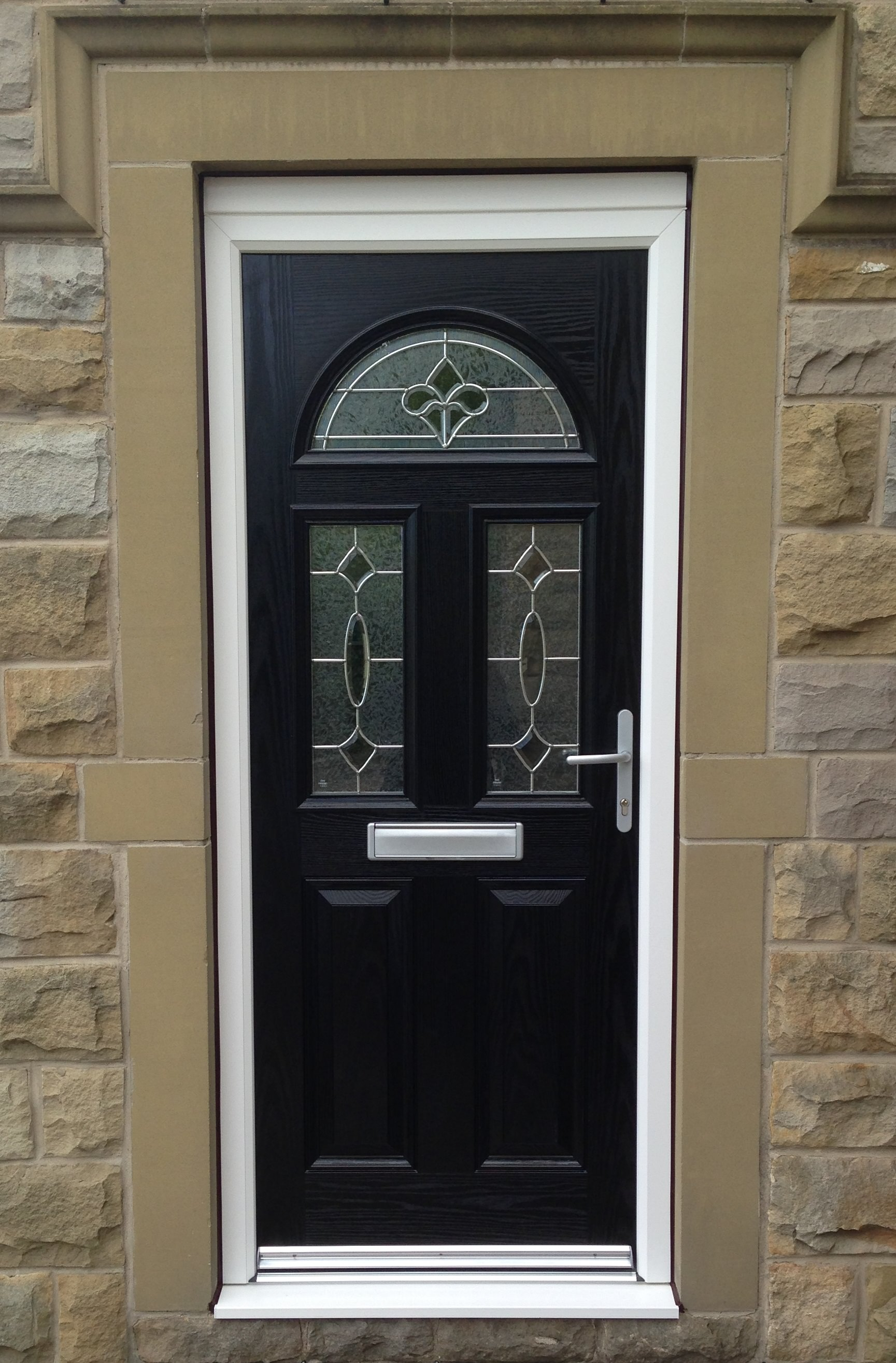 Doors composite victorian front door composite google for Composite windows