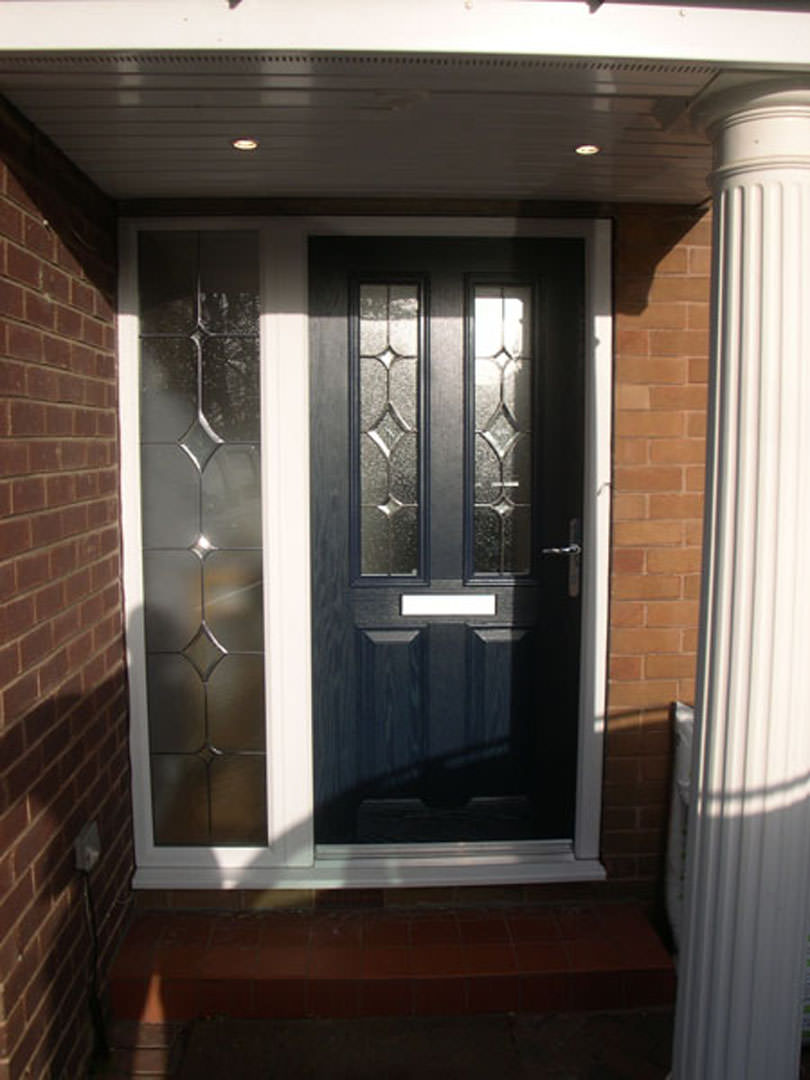 Compisite doors bespoke composite door with integrated for Composite windows