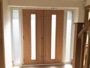Double Composite Door Interior