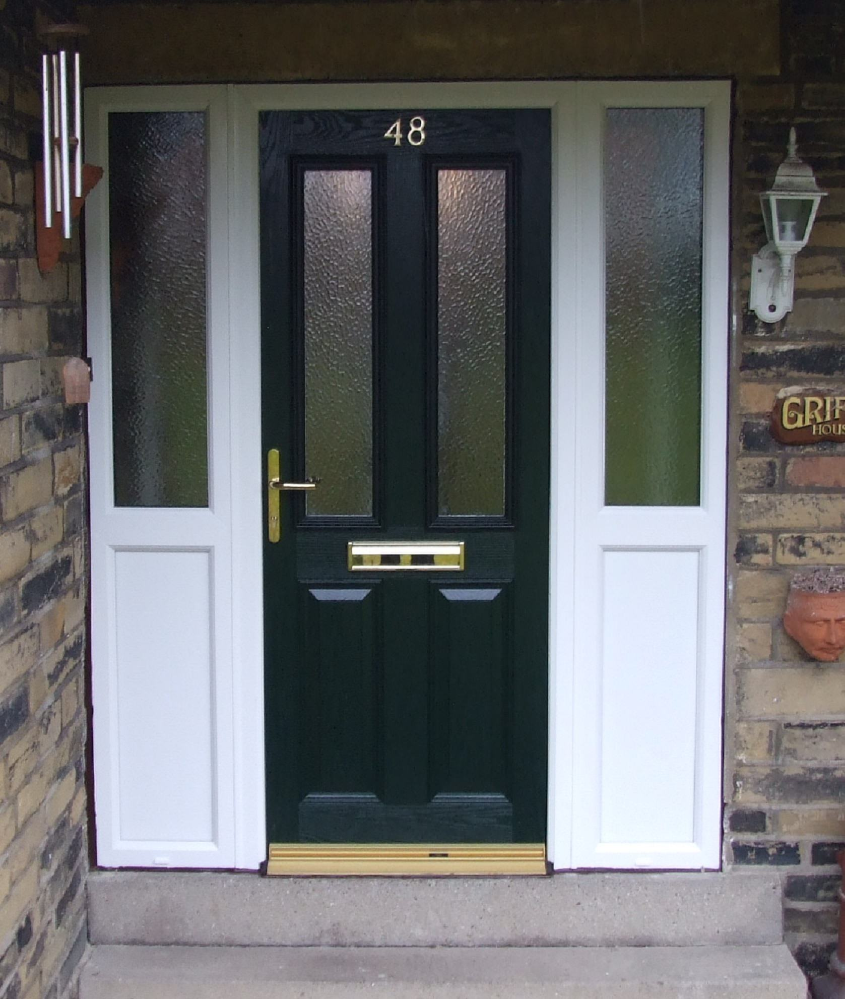 Composite door black composite door for Composite windows