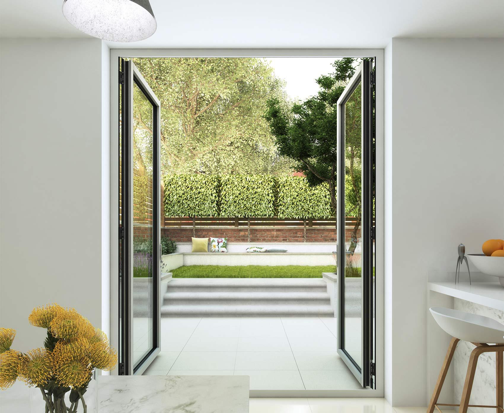 Aluminium french doors bradford leeds aluminium french for French doors barnsley
