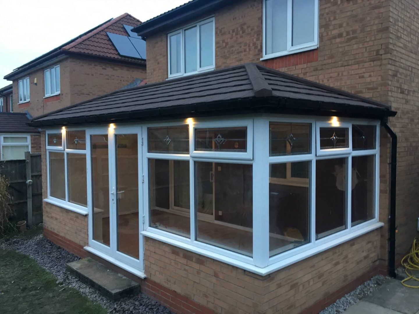 Tiled Conservatory Roof Installation Leeds
