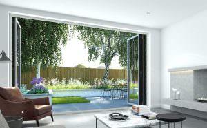 aluminium bi-fold doors bradford yorkshire