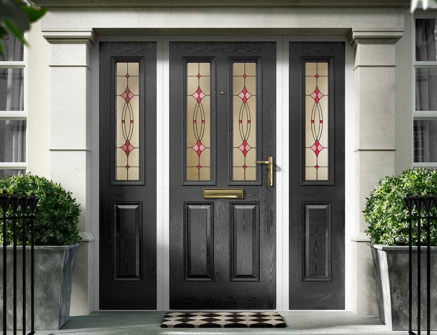 Image of: Composite Doors Bradford Leeds Composite Front Doors Leeds