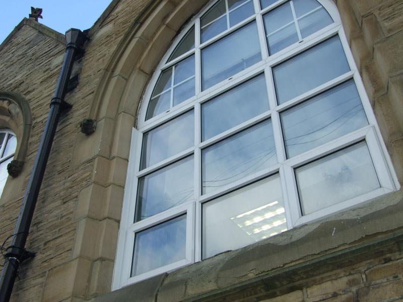 Mill Lane School Kingfisher Windows