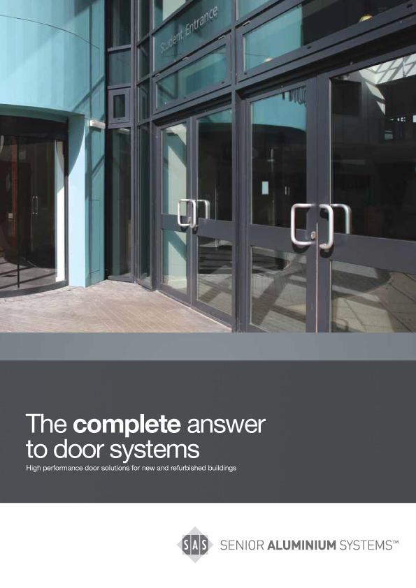 Sas Commercial Aluminium Doors Brochure Kingfisher Windows