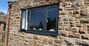 Aluminium Patio door and casement window installation West Yorks